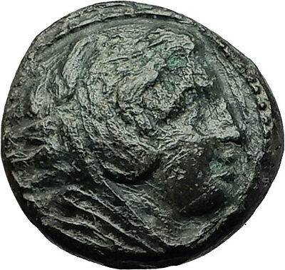 ALEXANDER III the GREAT 323BC Hercules Club Macedonia Ancient Greek Coin i59365