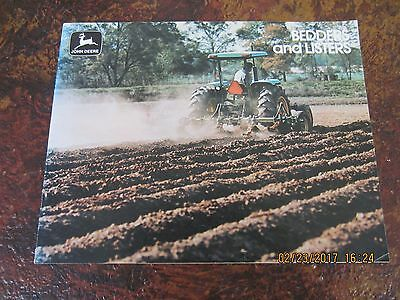 JOHN DEERE BEDDING and LISTER 19 PAGE BROCHURE