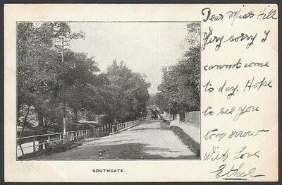 Southgate, London, Middlesex, 1904 - Atwood & Son Postcard