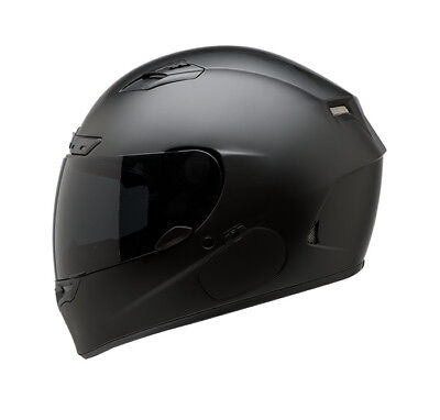 Bell Qualifier DLX Blackout Motorcycle Helmet Matte Black Adult All Sizes