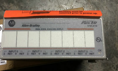 New in Box Allen Bradley 1794-IF4I Ser A Isolated Analog Input Flex IO PLC
