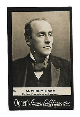 Ogdens - Guinea Gold - Card #97 - Anthony Hope - Very Good