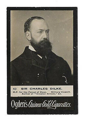 Ogdens - Guinea Gold - Card #42 - Sir Charles Dilke - Good To Very Good