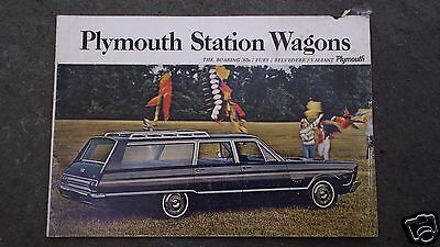 1965 Plymouth  Station Wagons (Usa) 16-Page Sales Brochure...