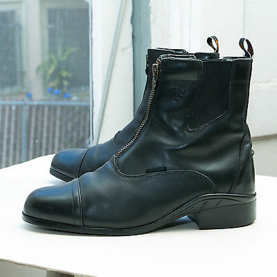 ARIAT Men's Heritage III Zip Paddock Boot, sz 10 - Waterproof H20 Black 10010200