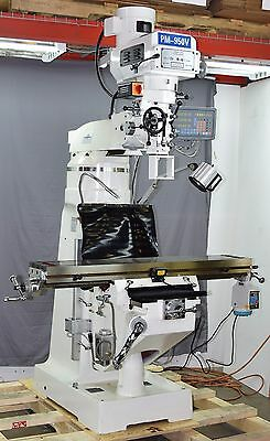 Pm-950V Vertical Knee Mill Milling Machine 3 Ax Dro, X Pwr, 1Ph Free Shipping