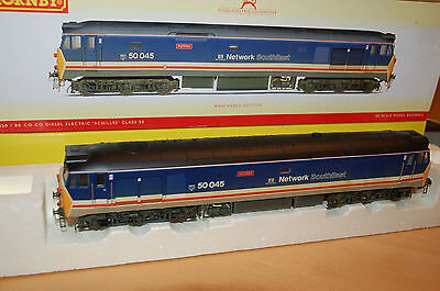 Hornby R2350 BR  Class 50 'Achilles' - 'Weathered' ''NEW'' - DCC FITTED OO Gauge