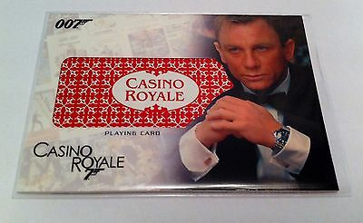 Complete James Bond Playing Card Relic Card #RC17 - Casino Royale