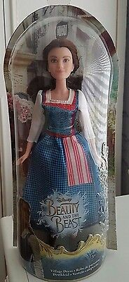 Disney Beauty And The Beast 2017 Live Action : Village Dress Belle Doll Bnib