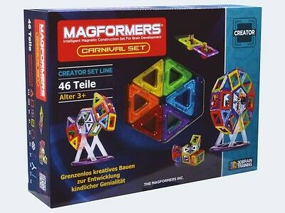 Magformers Carnival Set 46T + Booklet 3+ 274-13