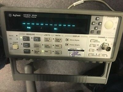 Keysight Agilent HP 53181A RF Frequency Counter 225 MHz