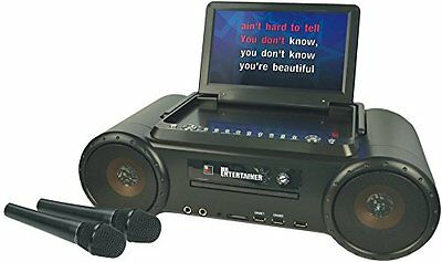 Mr Entertainer Partybox Portable DVD Player & CD+G Karaoke Machine Package.