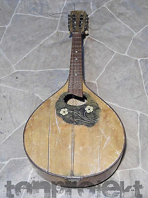 PROJEKT MANDOLINE teardrop mandolin Germany Bastler Sammler Deko parts defekt