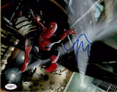 RARE Tobey Maguire Spiderman Signed Autographed 8x10 Photo JSA COA