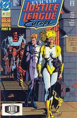 Justice League Europe #31 in Near Mint condition. FREE bag/board