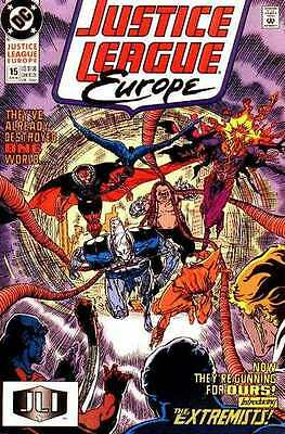 Justice League Europe #15 in Near Mint condition. FREE bag/board