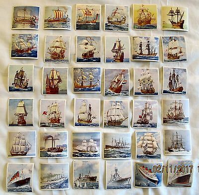 Vintage Godfrey Phillips Ships That Have Made History Full Set of 36