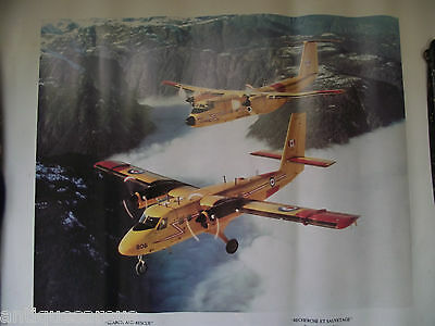 Search And Rescue  Poster L Balzak Canadian Forces 2 Airplanes