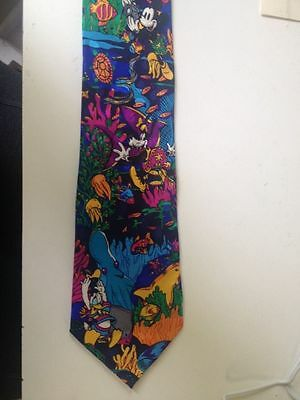 The Disney Store Mickey Mouse Tie