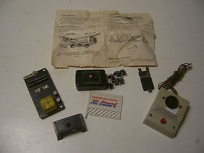 S Gauge Vintage American Flyer Lot Of Accessory's ETC. & Instruction Sheet