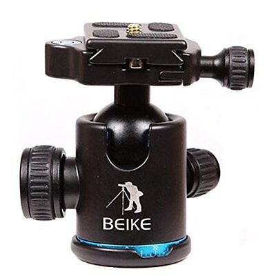 "BEIKE BK-03 Camera Tripod Ball Head Ballhead with Quick Release Plate 1/4"" Screw"