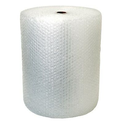 "Bubble + Wrap 1/2"" 125 ft. x 24"" Large Padding Perforated shipping moving roll"