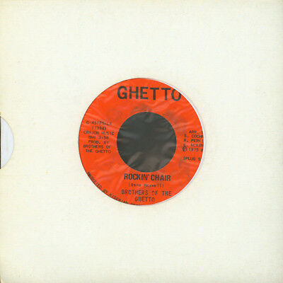 """Brothers Of The Ghetto - Rockin' Chair / Indes (Vinyl 7"""" - 1975 - US - Original)"""