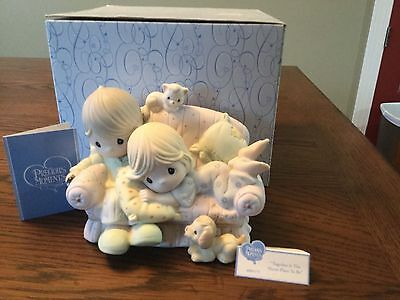 "Precious Moments Figurine ""Together Is The Nicest Place To Be."" 400175"