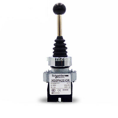 Schneider XD2PA22CR Spring Return Joystick Switch 2 Position 2NO New