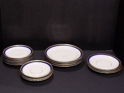 17 Pc Mixed Lot Vintage ROSENTHAL Germany Fine China Plates Saucers 2557 ELSE