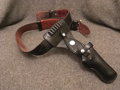 Vintage Jay-Pee Leather Gun Holster and Belt