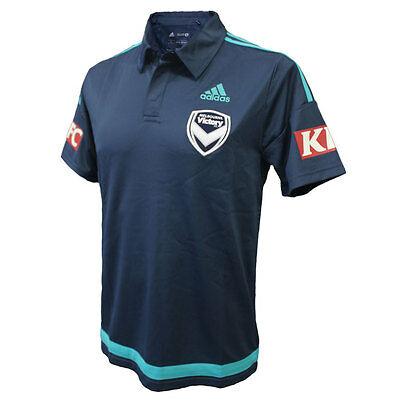 HAL Melbourne Victory FC 16/17 Media Polo Sizes S - 3XL *SALE PRICE*