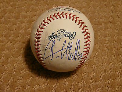 Lance McCullers signed Rawlings Official 'Spring Training' MLB Baseball