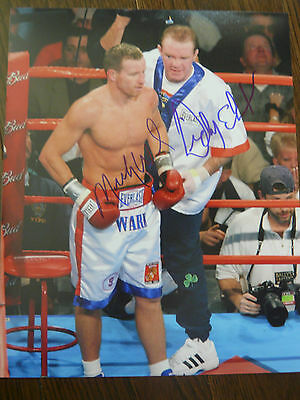 Micky Ward Dick Eklund 'The Fighter' signed 8x10 Photo *