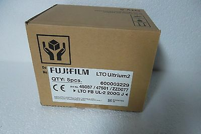 FujiFILM LTO-2 Ultrium Data Cartridge Tape High-Capacity 200/400GB 26220001 NEW