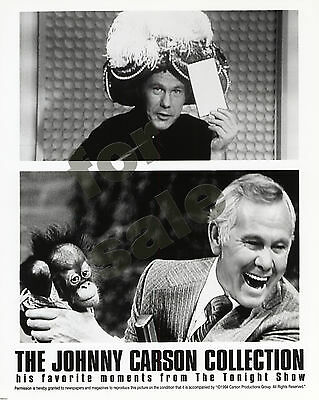 Johnny Carson Collection His Favorite Moments Still B&W Photo Tonight Show