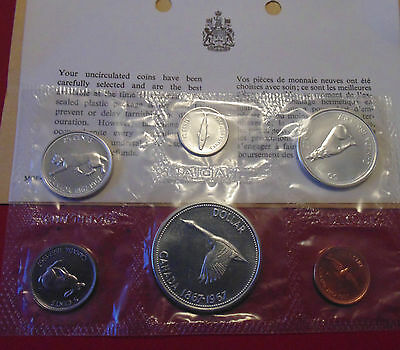 1967 CANADA Canadian Centennial Alex Coleville Proof Like SILVER coin MINT set