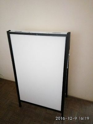 Double Sided Advertising Poster Frame Sandwich Board -  Insterted A Frame