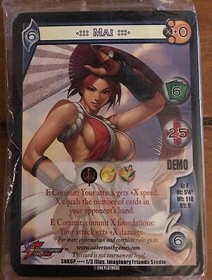 UFS Mai Demo Deck Universal Fighting System King Of Fighters SNK TCG CCG NEW