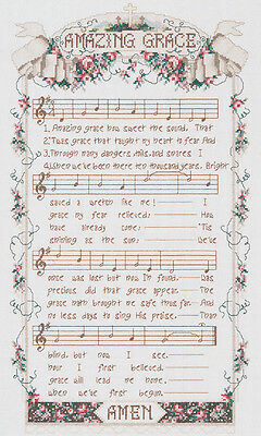 """""""Amazing Grace Counted Cross Stitch Kit-12""""""""X20"""""""" 14 Count"""""""