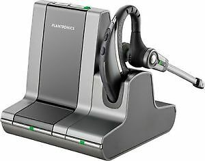 Plantronics Savi WO200/A Over-The-Ear DECT Wireless Headset for Desk Phone & PC