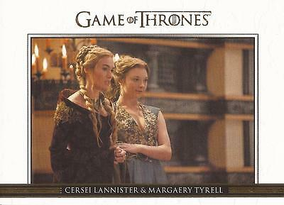Game of Thrones Season 3 - DL14 GOLD Parallel Relationships Chase Card #044/300
