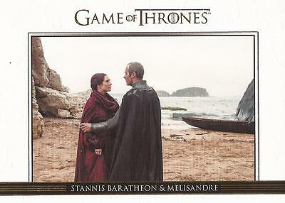Game of Thrones Season 3 - DL9 GOLD Parallel Relationships Chase Card #230/300