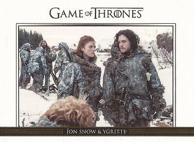 Game of Thrones Season 3 - DL7 GOLD Parallel Relationships Chase Card #275/300