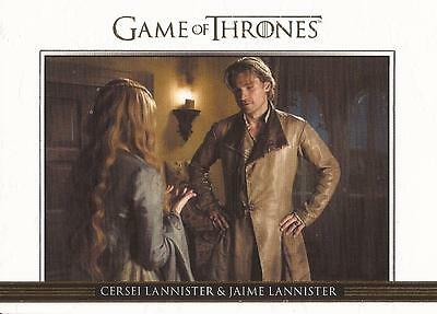 Game of Thrones Season 3 - DL2 GOLD Parallel Relationships Chase Card #097/300