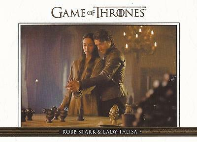 Game of Thrones Season 3 - DL8 GOLD Parallel Relationships Chase Card #135/300