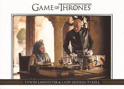 Game of Thrones Season 3 - DL11 GOLD Parallel Relationships Chase Card #148/300