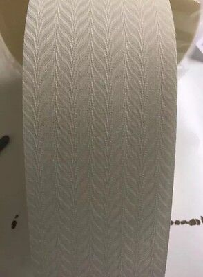 3.5 Inch Vertical blind fabric - Full Roll 100 Metre - Feather Cream