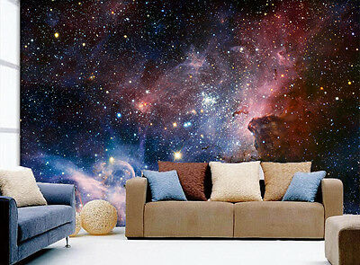 3D Universe Starry Sky Wall Paper Murals Wall Print Decal Wall Deco AJ WALLPAPE