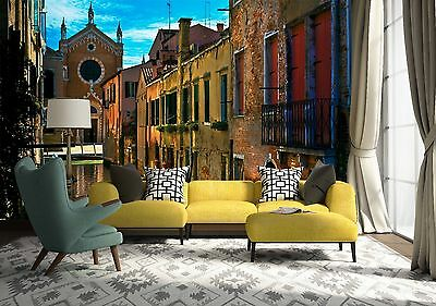 3D Water Venice Wall Paper Murals Wall Print Decal Wall Deco AJ WALLPAPE